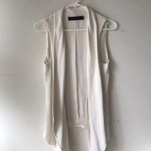 Zara vest cardigan